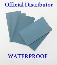 """8 sheets  FINE Sandpaper WATERPROOF 3"""" x  5 1/2"""" COMBO 2500/3000/5000/7000 Grit"""