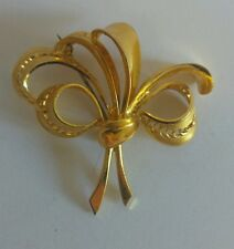 brooch Vintage goldtone