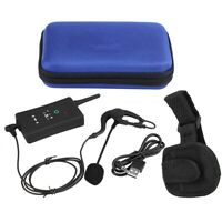 Wireless Bluetooth Interphone Motorcycle Football Referee Intercom Headset FBIM