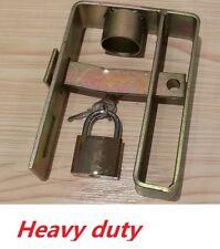 Trailer Coupling lock Heavy duty Caravan Coupling Hitch Lock with Padlock