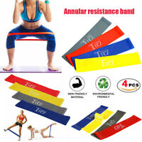 4PCS Resistance Loop Bands Crossfit Strength Mini Band GYM Fitness Exercise