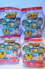 YO-KAI Watch lot Series 2 YoKai Sealed Blind Bag Medals 4 Bags of 3=12 Total NEW
