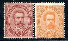 Italie 1879 38-39 * belle fraîcheur marques 750 € (s0261