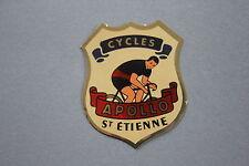 NL Ancien autocollant cycle APOLLO Saint etienne vélo marque loire 42