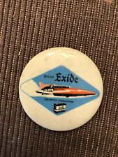 Miss Exide Unlimited Hydroplane Pin button Seattle Seafair