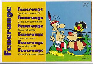 Feuerauge Nr.2 von 1973  - TOP Z1 Comicheft Löding G. Bess