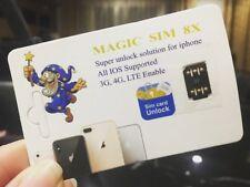 Magic Sim X8 Unlock iPhone X 8 7 6 LTE iOS 11.1.2 Unlocking