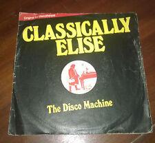 "The Disco Machine 45 Giri "" CLASSICALLY ELISE-CARMEN SOUL "" Music Power"
