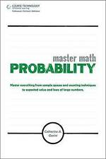 NEW Master Math: Probability by Catherine A. Gorini