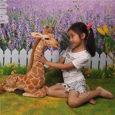 cute plush giraffe toy simulaiton sitting giraffe doll gift about 53cm