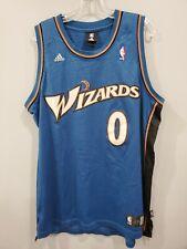 Rare VTG Adidas NBA Washington Wizards GILBERT ARENAS Agent 0 Jersey Mens L Sewn
