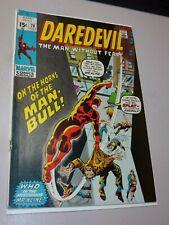 Daredevil #78 1st Appearance & Origin of Man-Bull 1971 Marvel Comics