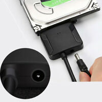 SATA to USB 3.0 2.5/3.5 inch HDD SSD Hard Drive Disk Converter Cable Adapter