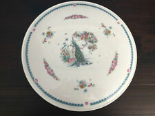 Royal Doulton Cake Plate, Indian Summer Collection H5157, Floral, With Peacock