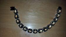 Genuine Prasiolite Tennis Bracelet in Rhodium/sterling (6.5)