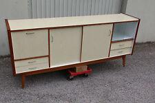 enfilade design retro vintage scandinave bois formica 220x97x59
