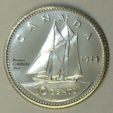 1973 Canada Proof-Like 10 Cents