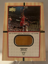 2000 Upper Deck Michael Jordan MJ's Final FLOOR Card FF5  Rare Insert Game Jumbo