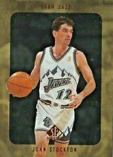 CARTES DE BASKET NBA JOHN STOCKTON  SP authentic #145