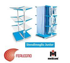 STENDINO STENDIBIANCHERIA 3 PIANI VERTICALE CON RUOTE CASA STENDIMEGLIO JUNOR