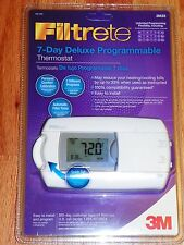 3M 3M25 Filtrete 7-Day Programmable Thermostat with Backlight  - NEW