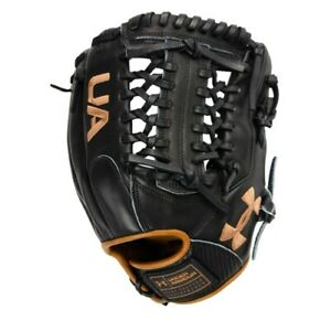 UA Genuine Pro 2.0 Fielding Glove (11.75 inch) UAFGGP2-1175MT-Black/Carmel - RHT