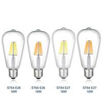 e26/e27 16w retro filament led bulb 110/220V edison drop lamp dimmable lightning