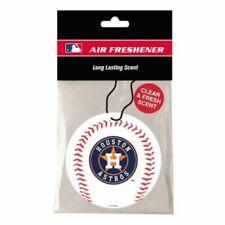 Houston Astros Air Freshener - Clean Fresh Scent 3 Pack