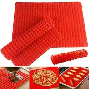 Household Cookie Baking Cooking Silicone Mat Oven Non Stick Tray Heat Resistant