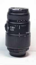 Sigma 70-300mm MACRO ZOOM Wildlife APO LENS FOR D3300 D3200 D3100 D3000 D40 D200