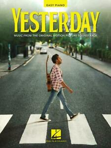 YESTERDAY EASY PIANO THE BEATLES SHEET MUSIC FROM MOVIE SOUNDTRACK **BRAND NEW**