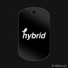 Hybrid Keychain GI dog tag engraved many colors