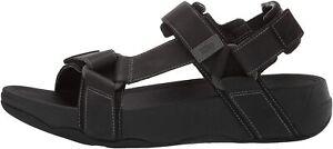 FitFlop Men's Ryker Sandal, Black, Size 11.0 bEnf
