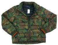 Polo Ralph Lauren Mens Jacket Green Size Large L Camoflauge Puffer $248 #082