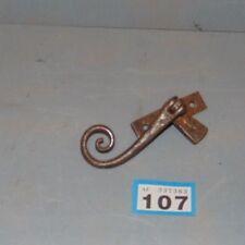 Original Vintage Wrought Iron Monkey Tail Window Catch  107
