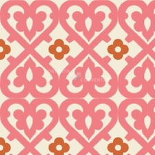 Indian Summer Pink Damask by Zoe Pearn for Riley Blake, 1/2 yard cotton fabric