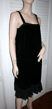 PURE DKNY Velvet Little Black Dress $225 - NEW size 8
