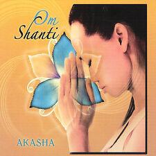 FREE US SHIP. on ANY 2 CDs! ~Used,Good CD Akasha: Om Shanti