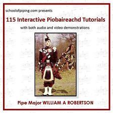115 Piobaireachd tutorial DVD-Rom