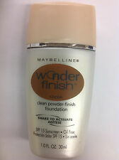 Maybelline Wonder Finish Liquid-to-Powder Foundation COCOA NEW.