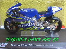 MOTO  GP 1/24 SERIE 2 HONDA RSW 250 DANI PEDROSA 2004 MOTORCYCLE