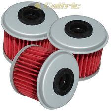 3 Pack Oil Filter HONDA CRF450R CRF450X CRF450RX 2002 2003 2004 2005-2018