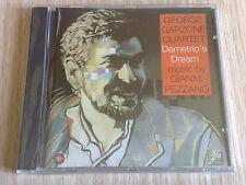 GEORGE GARZONE QUARTET (GIANNI PEZZANO) -DEMETRIO'S DREAM- CD SIGILLATO (SEALED)