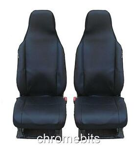FRONT BLACK FABRIC SEAT COVERS OPEL VAUXHALL INSIGNIA MPV ZAFIRA A B VECTRA B C