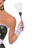 PLUMEAU SOUBRETTE ACCESOIRE DÉGUISEMENT COSTUME FEMME MENAGE SERVEUSE 17313