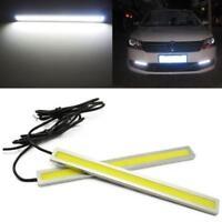 2x Super Bright COB White Car B*D Lights for DRL Fog Driving Lamp Waterproof GA