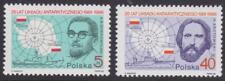 Poland 1986 #2733-34 Antarctic Agreement, 25th Anniversary (Set of 2) - MNH