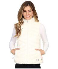 Under Armour Women's L LG UA ColdGear Infrared Uptown VEST Jacket White 1246816
