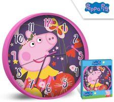 Peppa Pig Wanduhr / Peppa Wutz Wanduhr