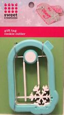 NEW Good Cook 3-D Gift Tag Christmas Cookie Cutter